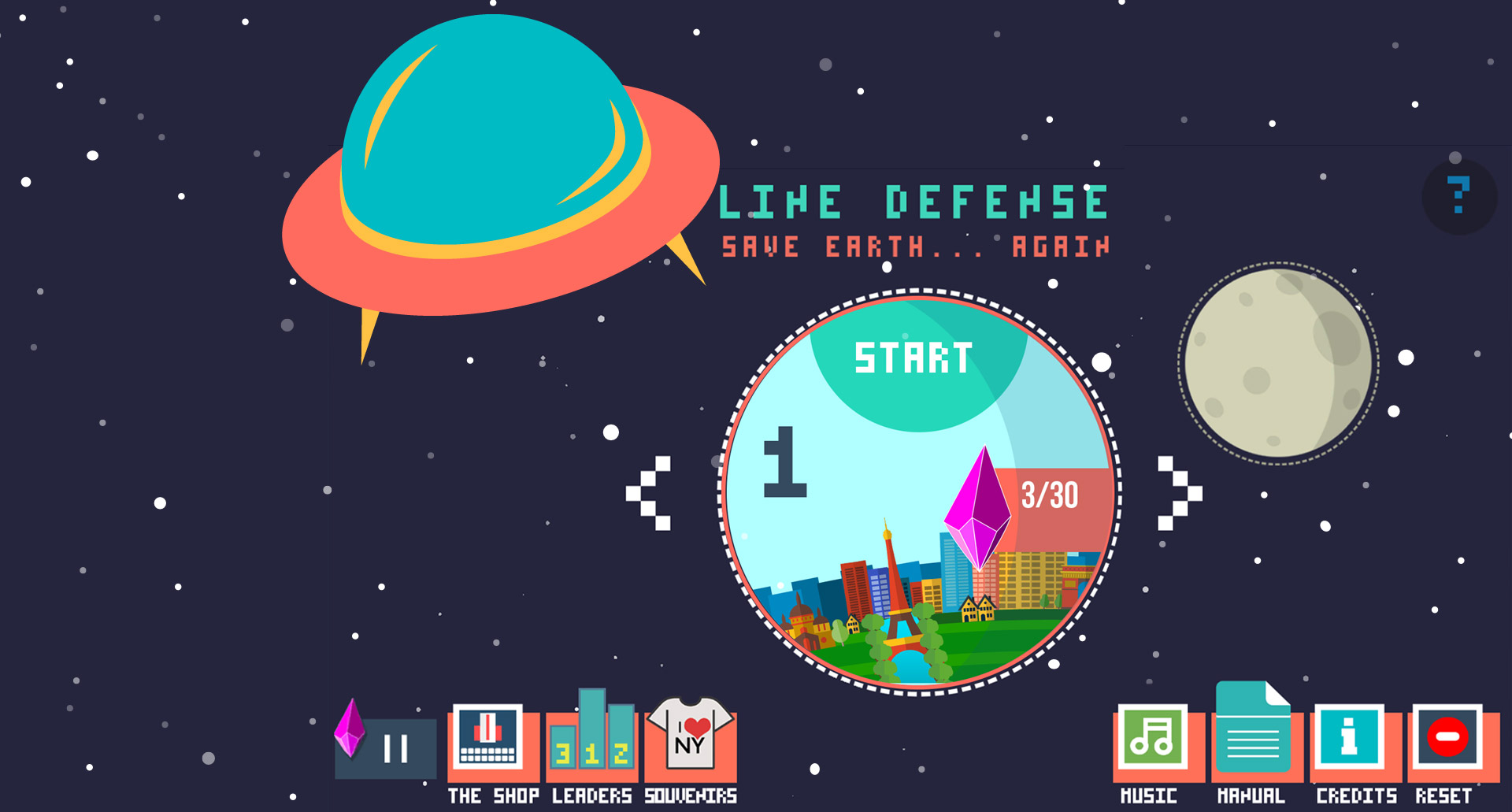 Line Defense Mobie Game